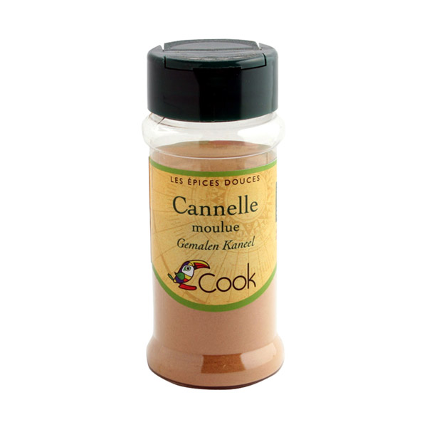 Cook Cannelle Poudre Bio Cook 35 G Van Vlodorp Nutrition