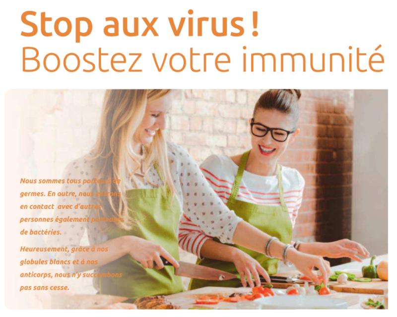 Boostez votre immunité avant l'hiver
