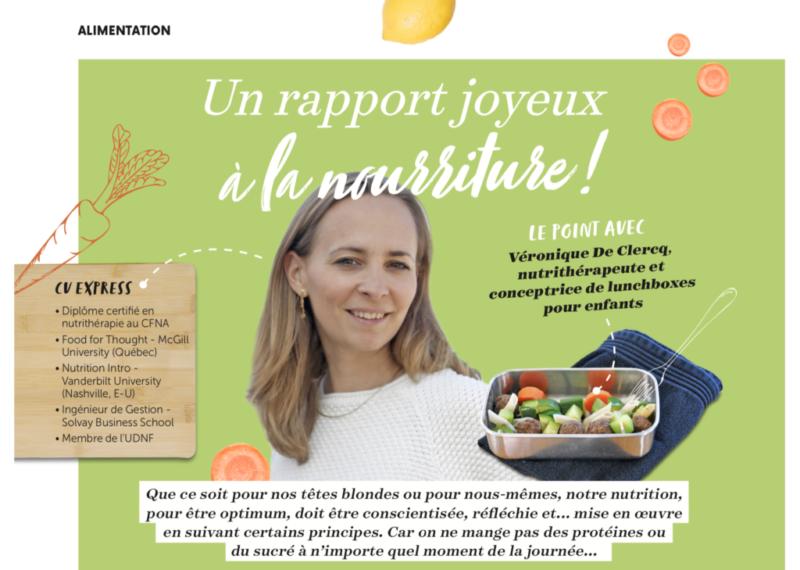 Un rapport joyeux à la nourriture